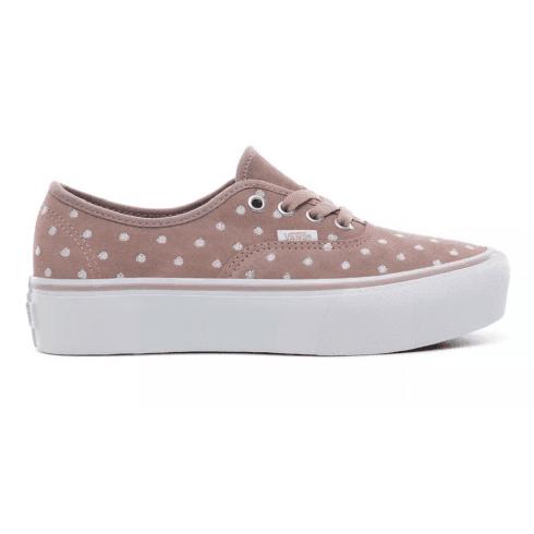 Vans Womens Authentic Platform Sneakers - Blush