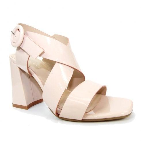 Lunar Womens Quince Pink Block Heel Sandals - JLE088