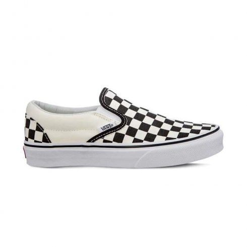 Vans Classics UA Classic Slip-On Black & White Checkerboard Sneakers