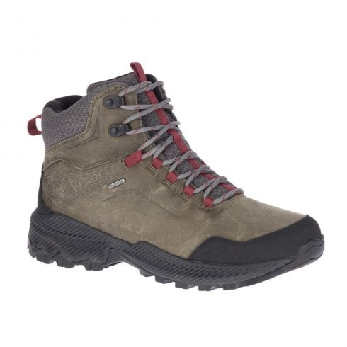 Merrell Mens Forestbound Mid Waterproof Lace Up Hiking Boots