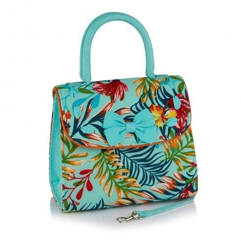 Ruby Shoo Santiago Hawaiian Print Handbag - 50206