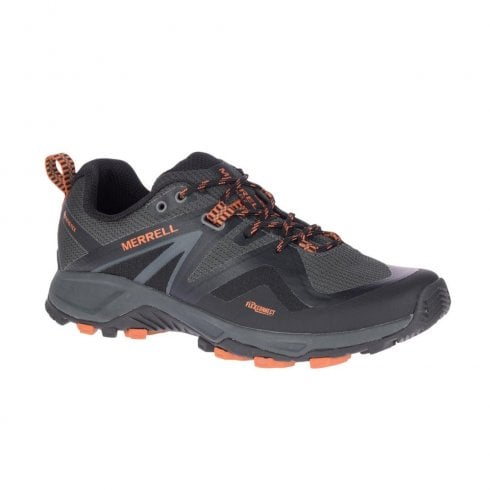 Merrell Mens MQM FLEX 2 GTX Grey Waterproof Mesh Trainers