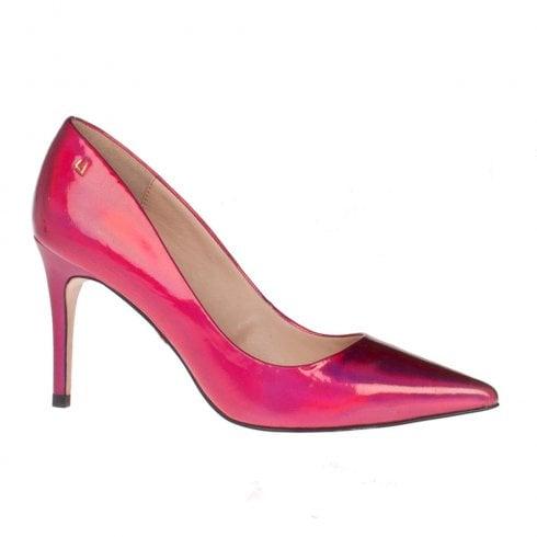 Una Healy Delta Dawn Pink Pizzazz High Heel Dressy Court Shoe