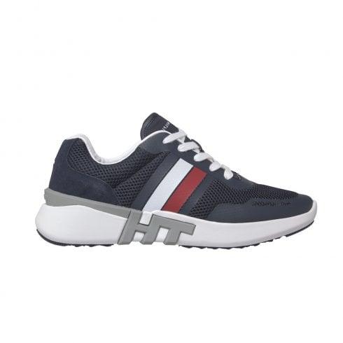 Tommy Hilfiger Mens Desert Sky Navy Mesh Sneakers