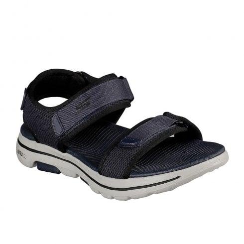 Skechers Mens GOwalk 5 Cabourg Navy Walking Sandals