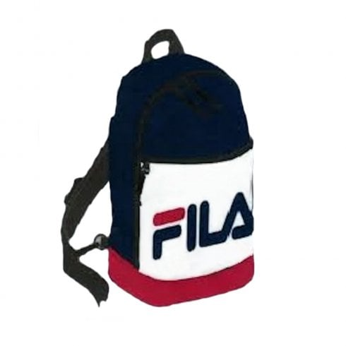 Fila Marvin Navy Red White SML Single Strap Backpack