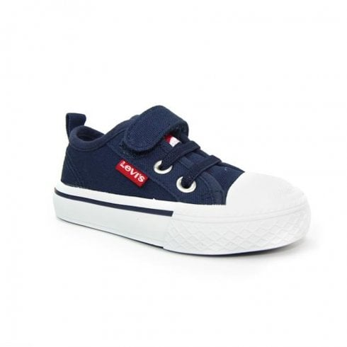 Levi's Infant Navy Canvas Velco Sneakers - Maui Mini