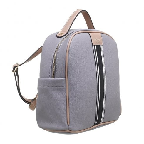 Bessie London Womens Grey Backpack - BW4276