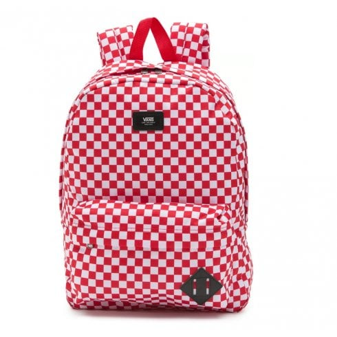 Vans Old Skool III Backpack Red Checkerboard