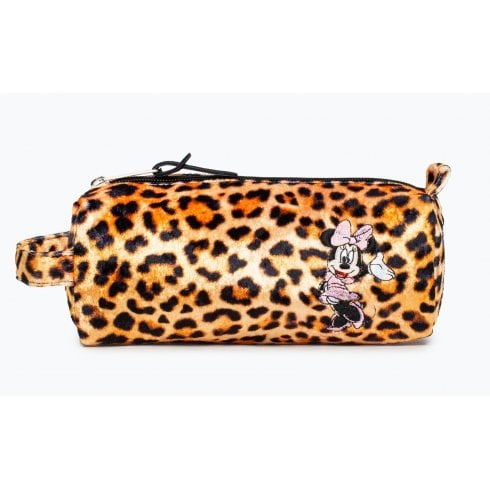 Hype Disney Minnie Leopard Pencil Case