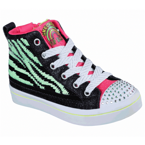 Skechers Flip Kick: Twi-Lites 2.0 Girls Trainers