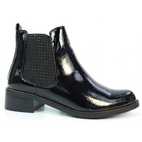 Lunar Shoes | GLC751 Mixer Black Patent