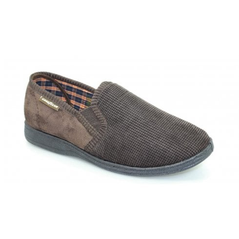 Goodyear Men's Mallory Brown Slipper