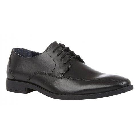 Lotus Mens Howard Black Leather Lace-Up Smart Shoes