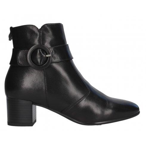 Nero Giardini Black Heeled Ankle Boots