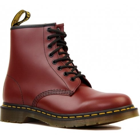 Dr. Martens Dr Martens Unisex 1460 Cherry Red Smooth Boots