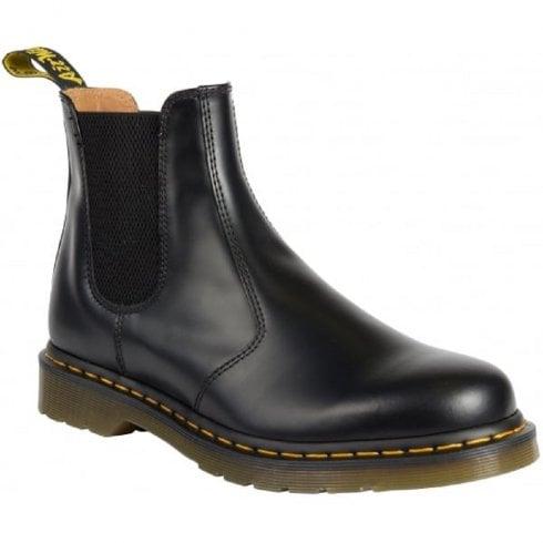 Dr. Martens Dr Martens 2976 Black Smooth Chelsea Boots