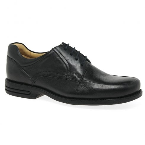 Anatomic & Co Anatomic Mens Campos Black Lace Up Leather Shoes