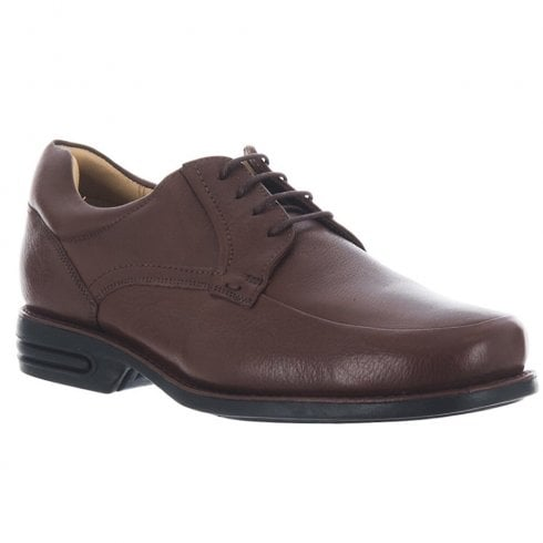 Anatomic & Co Anatomic Mens Campos Brown Lace Up Leather Shoes