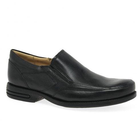Anatomic & Co Anatomic Mens Mina Black Leather Slip On Shoes