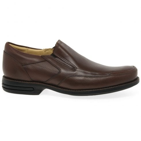 Anatomic & Co Anatomic Mens Mina Brown Leather Slip On Shoes