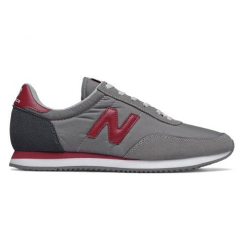 New Balance Mens 720 Grey/Red Trainers