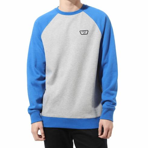 Vans Rutland III Crew Sweater - Grey/Blue