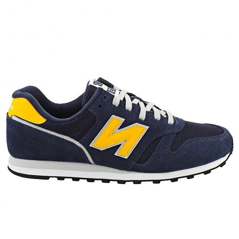New Balance Mens 373 Lace Up Sport Lifestyle Shoes - Navy