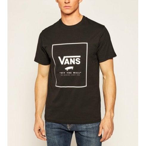 Vans Mens Print Box Black T-Shirt