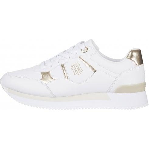 Tommy Hilfiger Interlock City Sneaker in white