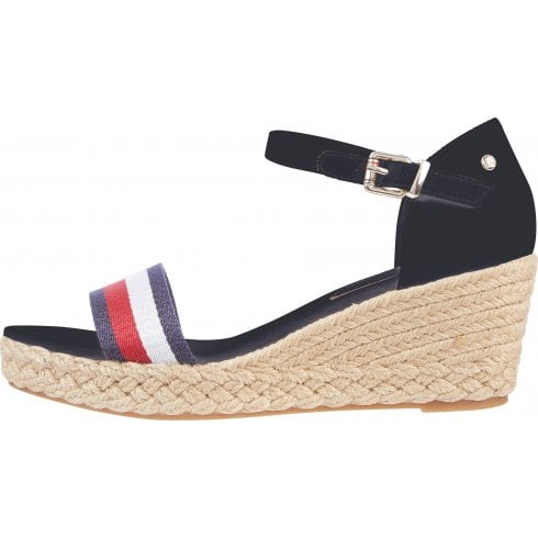 Tommy Hilfiger Ladies Desert Sky Mid-Wedge Sandals