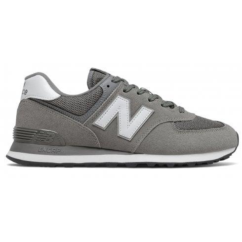 New Balance Mens 574 Lifestyle Trainers-Light Grey