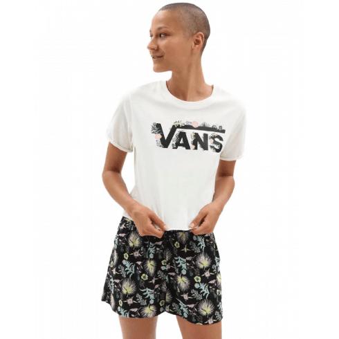 Vans Womens Blozzom Roll Out T-Shirt