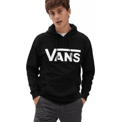 Vans Mens Classic Black Pullover Hoodie
