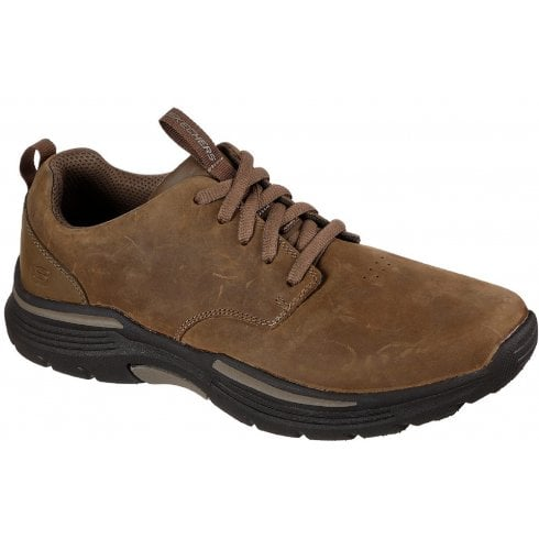 Skechers Mens Expended Carvalo Desert Brown Trainers