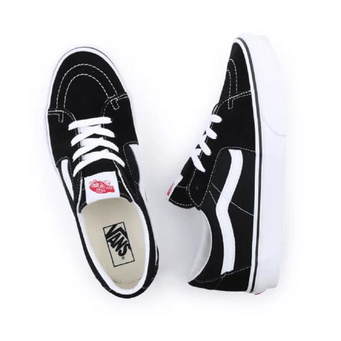 Vans Unisex Sk8-Low Black Skate Shoes