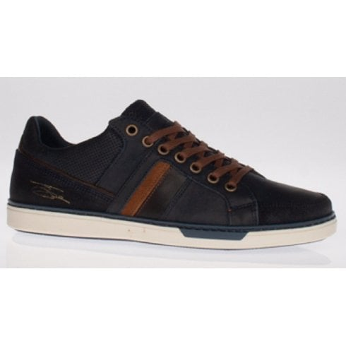 Lloyd & Pryce - Tommy Bowe Lloyd and Pryce Mens Franks Storm Navy Trainers
