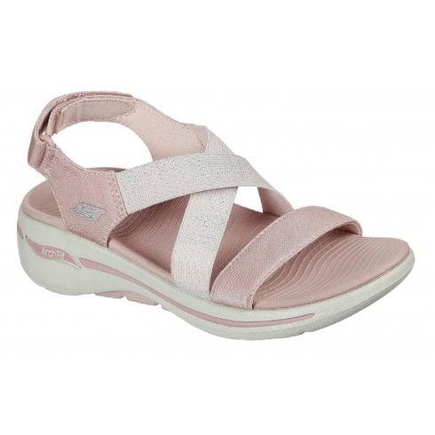 Skechers Ladies Arch Fit Astonish Rose Pink Sandals