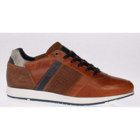 Lloyd & Pryce - Tommy Bowe Lloyd and Pryce Mens Varley Spiced Toffee Brown Trainers