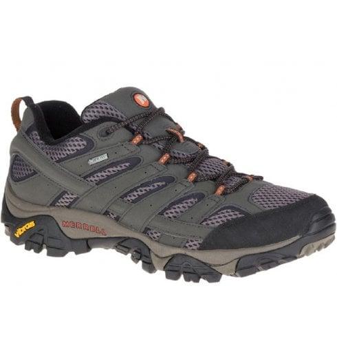 Merrell Mens Moab 2 GORE -TEX Khaki Hiking Shoes