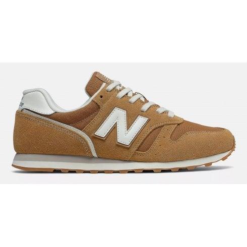 New Balance Men's Lifestyle Orange 373 Sneakers