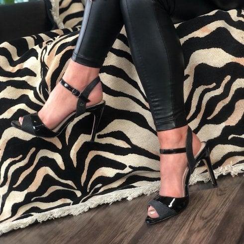 Una Healy Knockin Boots Black Heels