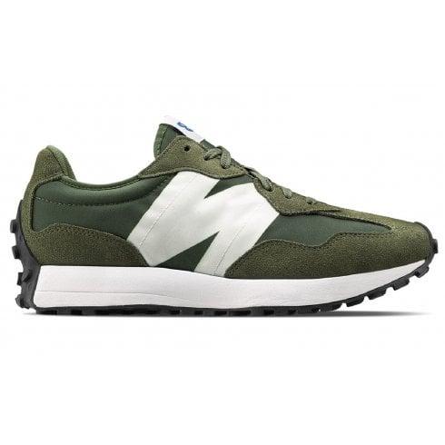 New Balance Unisex 327 Lifestyle Green Trainers
