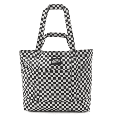 Vans Tell All Checkerboard Tote Bag