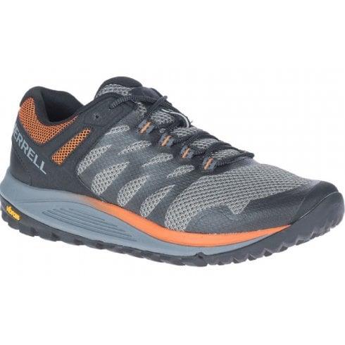 Merrell Mens Charcoal Nova 2 Trail Running Trainers