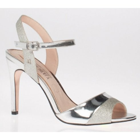 Una Healy Knockin Boots Silver Heels