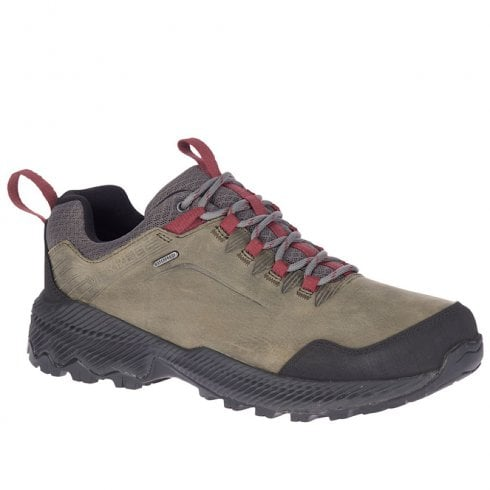 Merrell Mens Grey Forestbound Waterproof Trainers