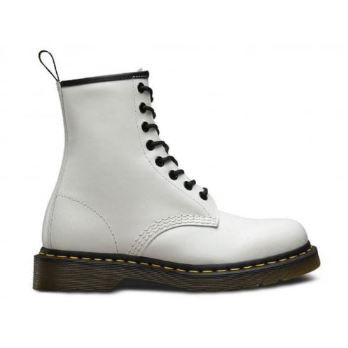 Dr. Martens Dr Martens Unisex 1460 White Smooth Boots
