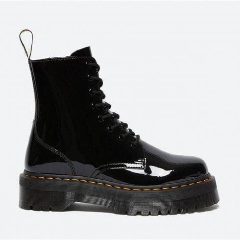 Dr. Martens Dr Martens Womens Jadon Black Patent Boots