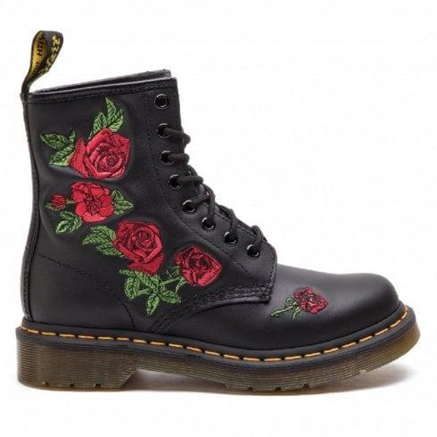 Dr. Martens Dr Martens 1460 Vonda Black Floral Boots